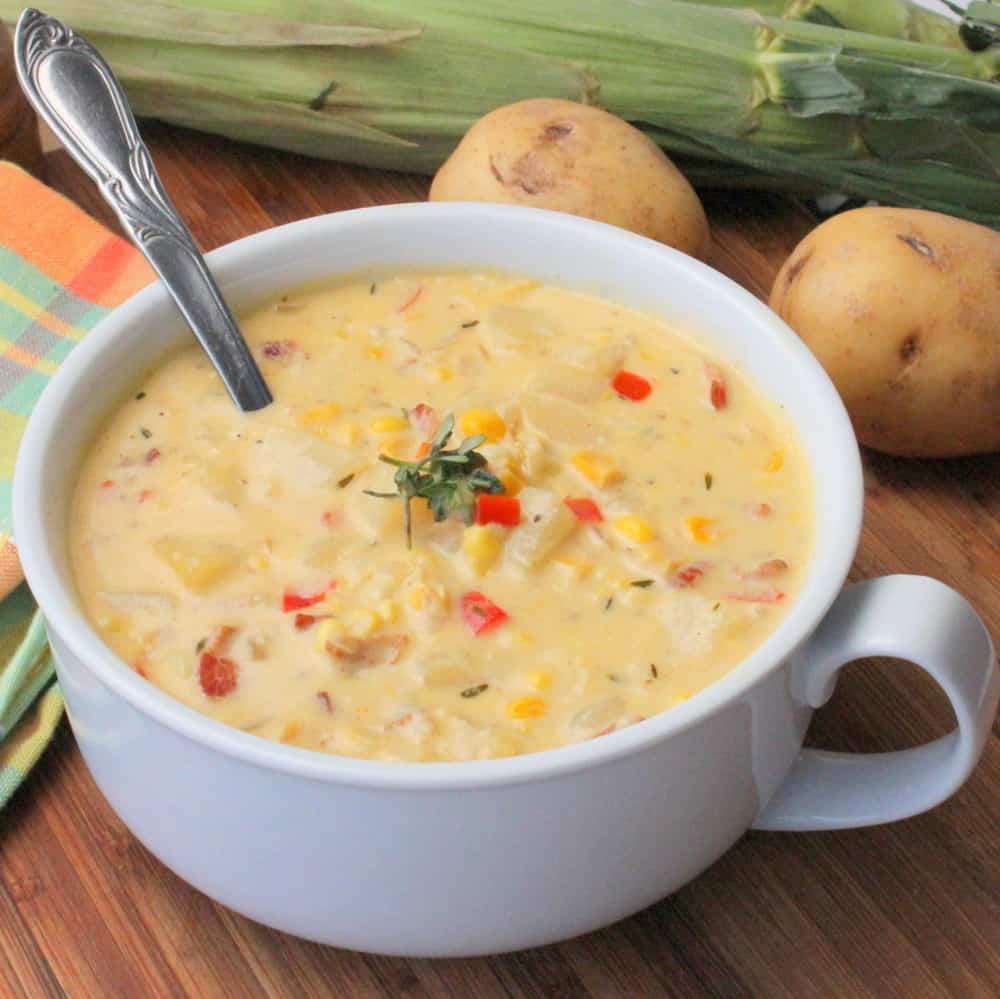 Soup Kitchen Boston: Farm Fresh Corn Chowder