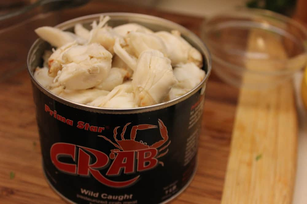 Get yourself some quality lump crab meat from your local fish market