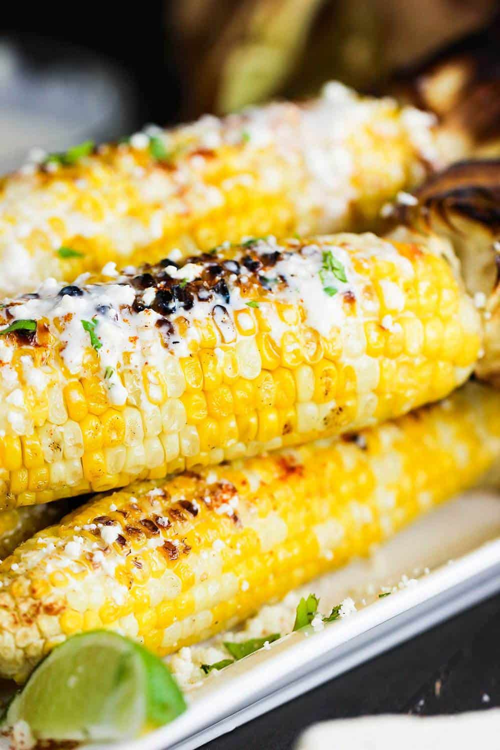 Mexican-Style Grilled Corn recipe