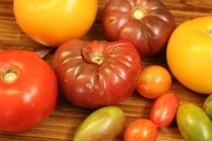 Heirloom salad tomatoes