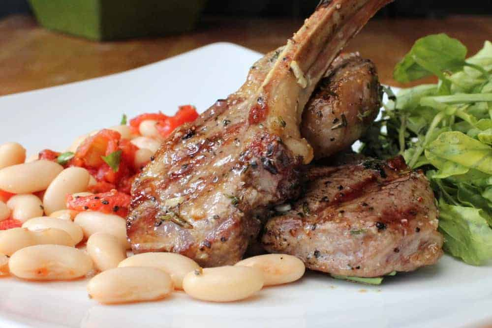Grilled Marinated Lamb Chops - How To Feed A Loon