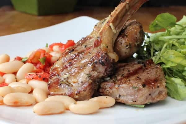 lamb chops feature