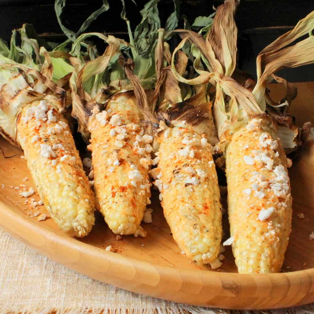 Grilled Corn on the Cob with Chili, Lime and Cotija Cheese ...