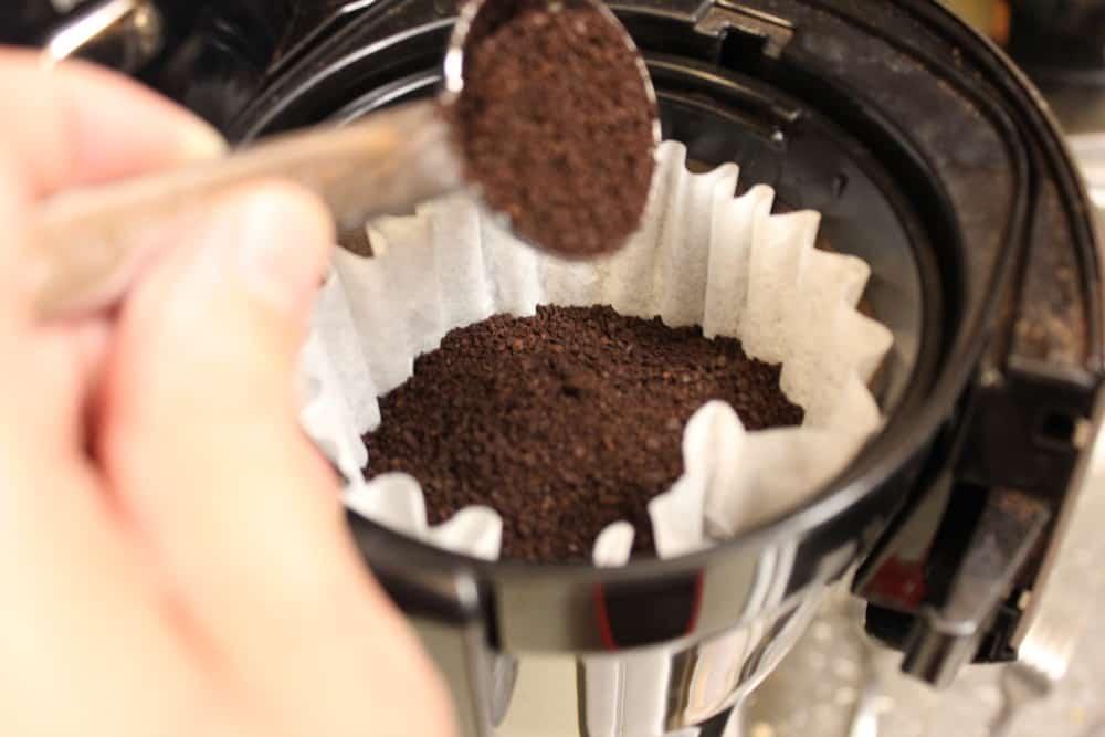 Making the espresso