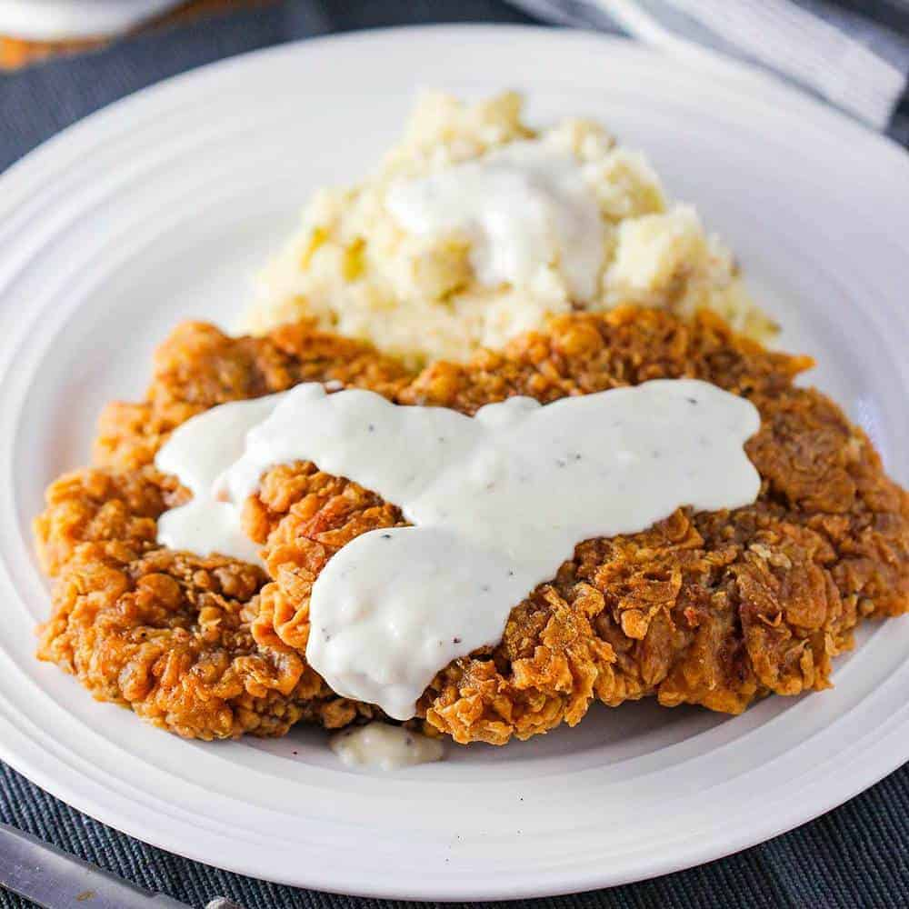 Southern Chicken Fried Steak With Video How To Feed A Loon
