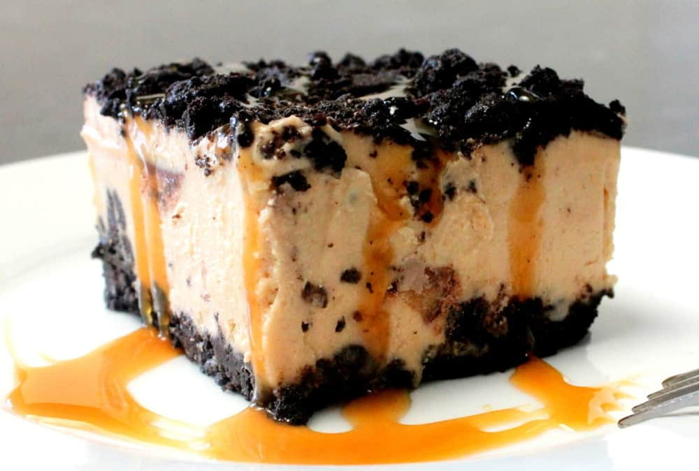 Peanut Butter Ice Cream Cake