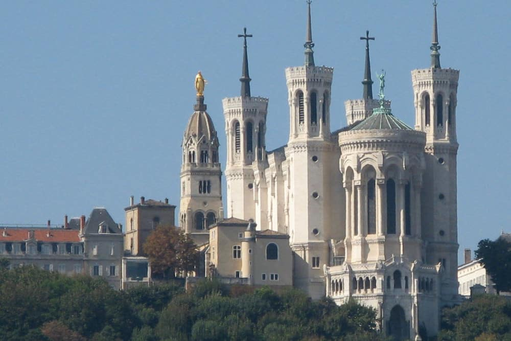 The amazing Basilica Notre-Dame de Fourviere
