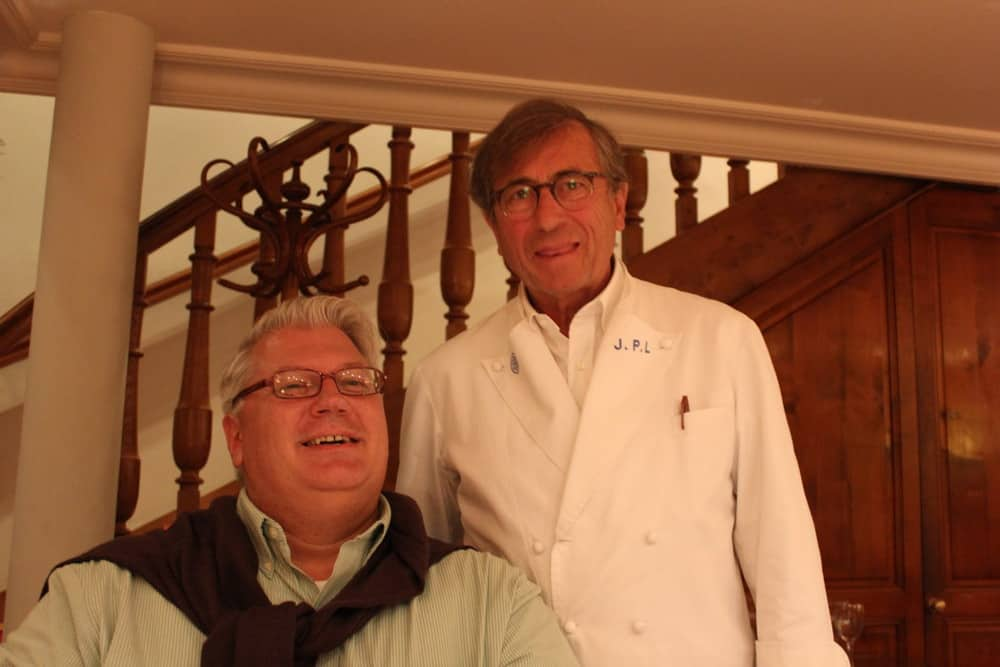 The Loon with famed chef, Jean-Paul Lacombe