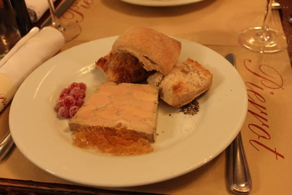 Incredible homemade foi gras