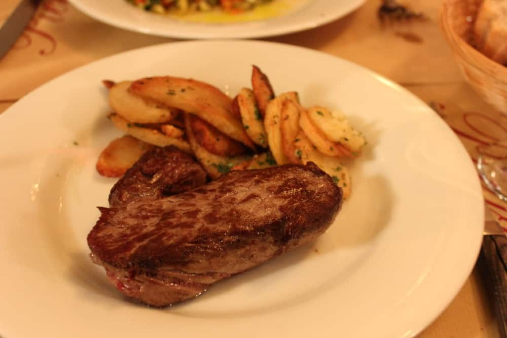 Aubrac (French cattle) beef rumsteack