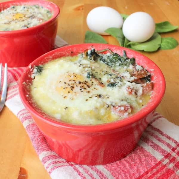 baked egg feature