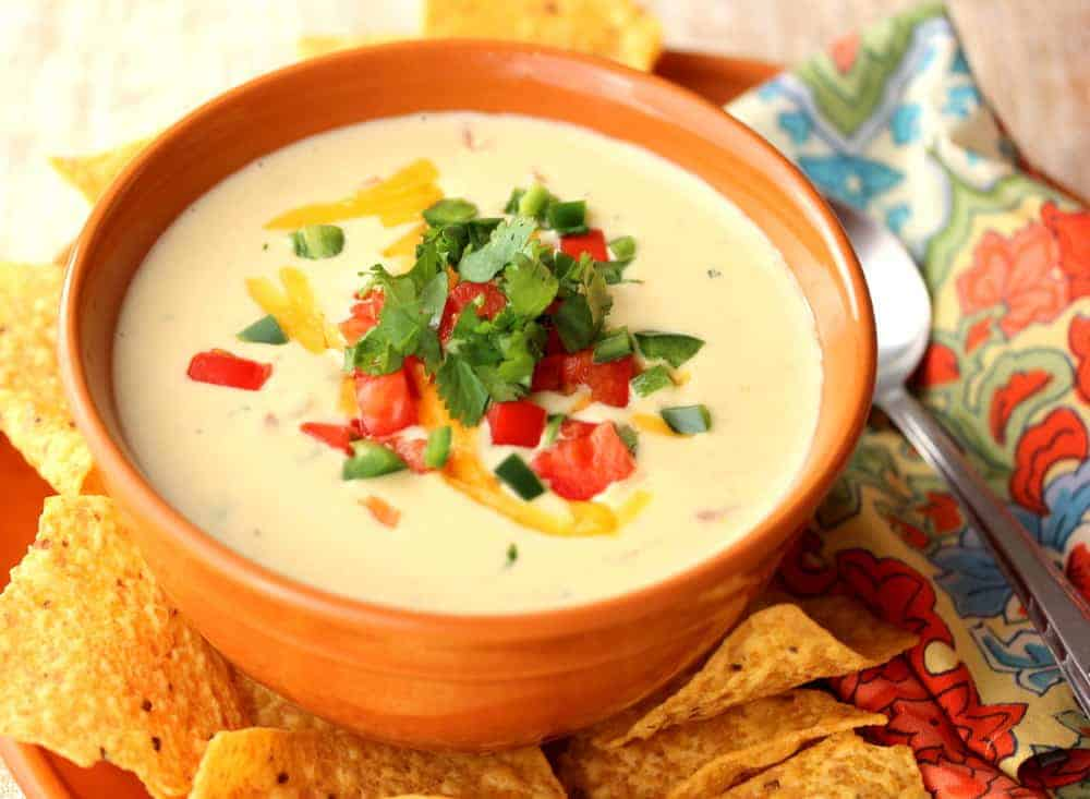 Jalapeño-Cilantro-Cheddar Soup