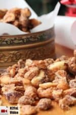Naughty and Nice Spiced Nuts recipe