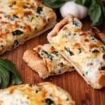 Easy cheesy toasted garlic bread