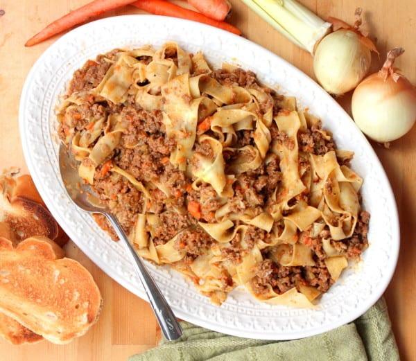 pasta meatsauce feature