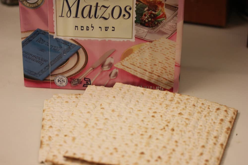 Grind up matzos in your food processor for the perfect binder
