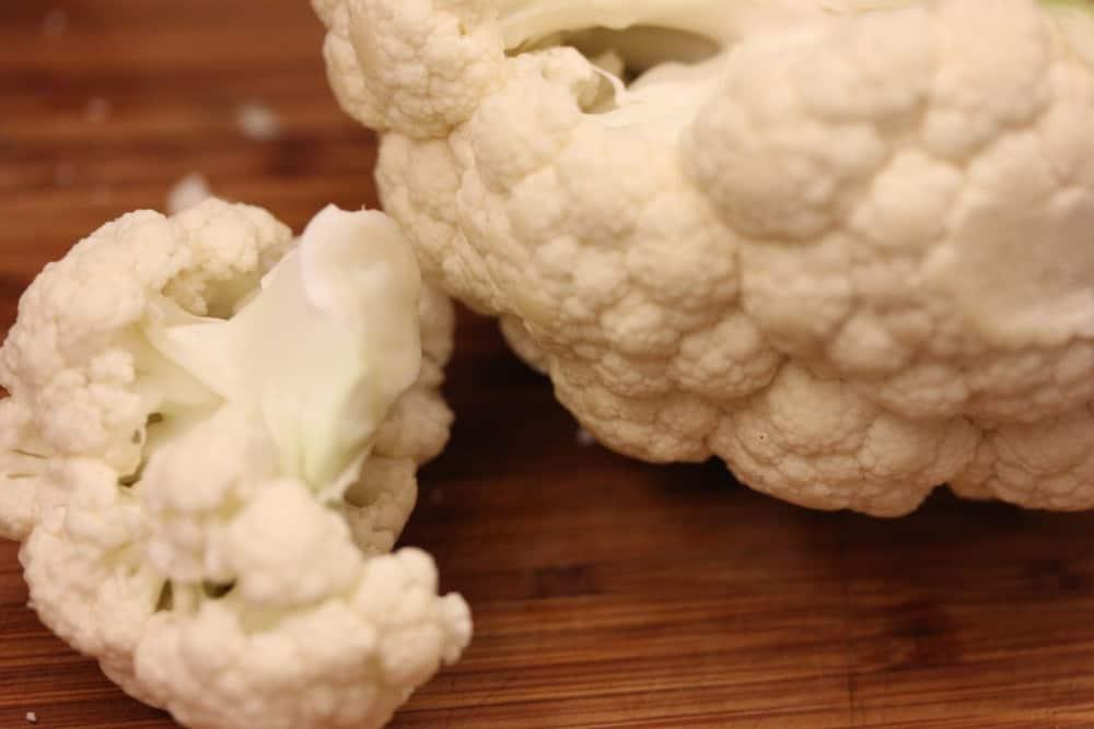 1 beautiful head of cauliflower cut into florets