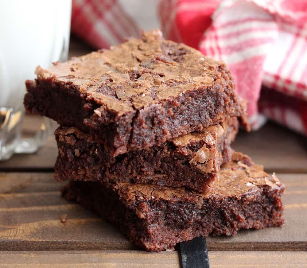 The ultimate fudge brownies