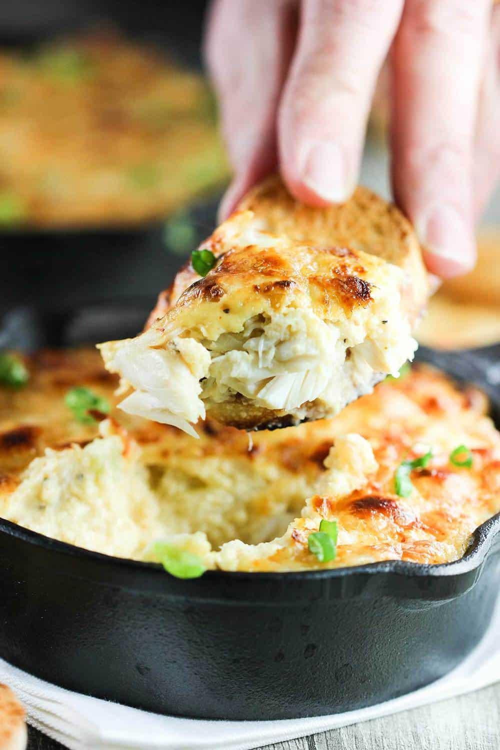 Lump Crab au gratin recipe