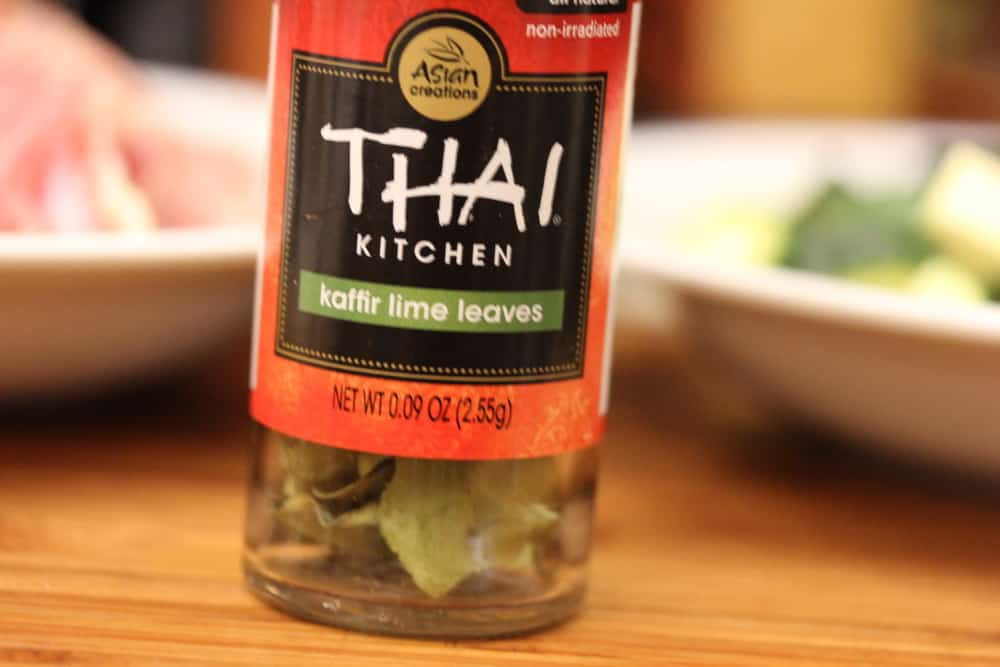 You can find Thai lime leaves at specialty markets, or Asian markets