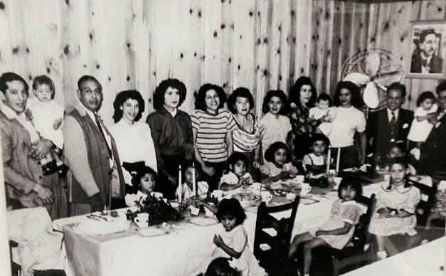 Joe T's family in 1935
