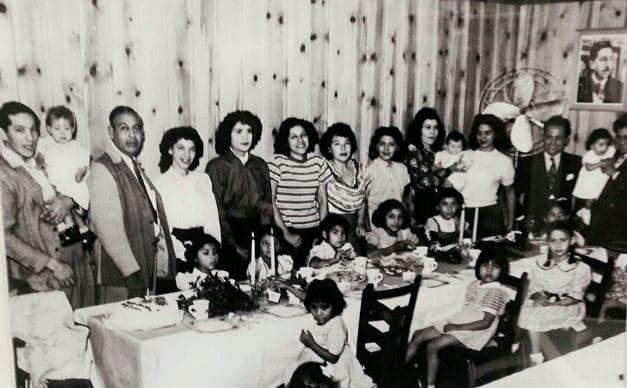 Joe T's family in 1935