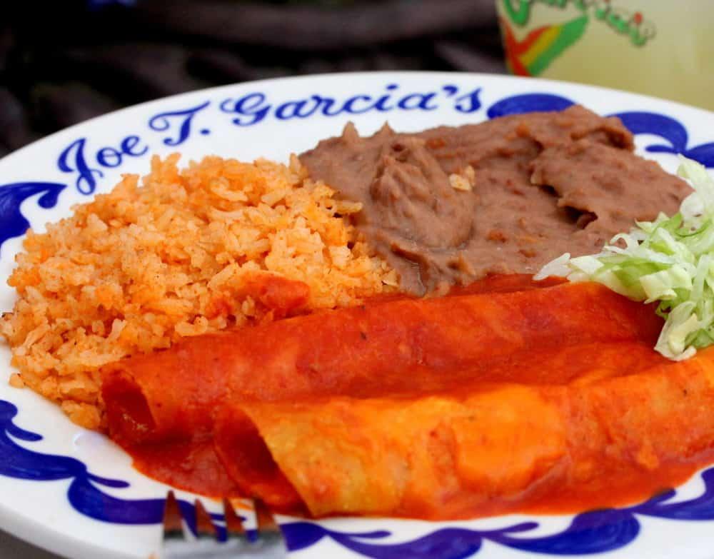 The classic enchilada dinner