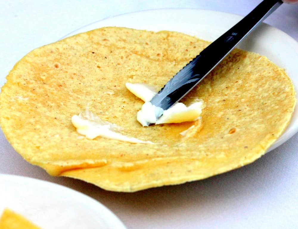 All tortillas are made fresh, daily, in-house