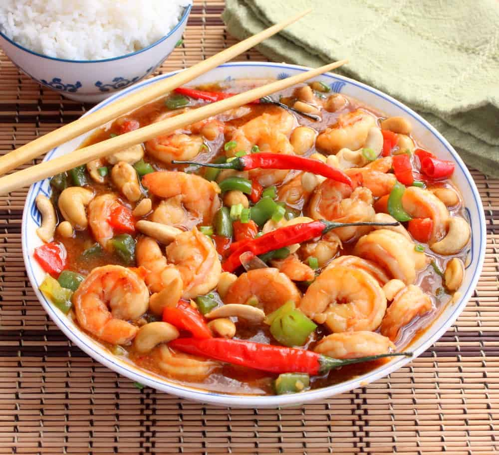 Kung Pao Shrimp - How To Feed A Loon