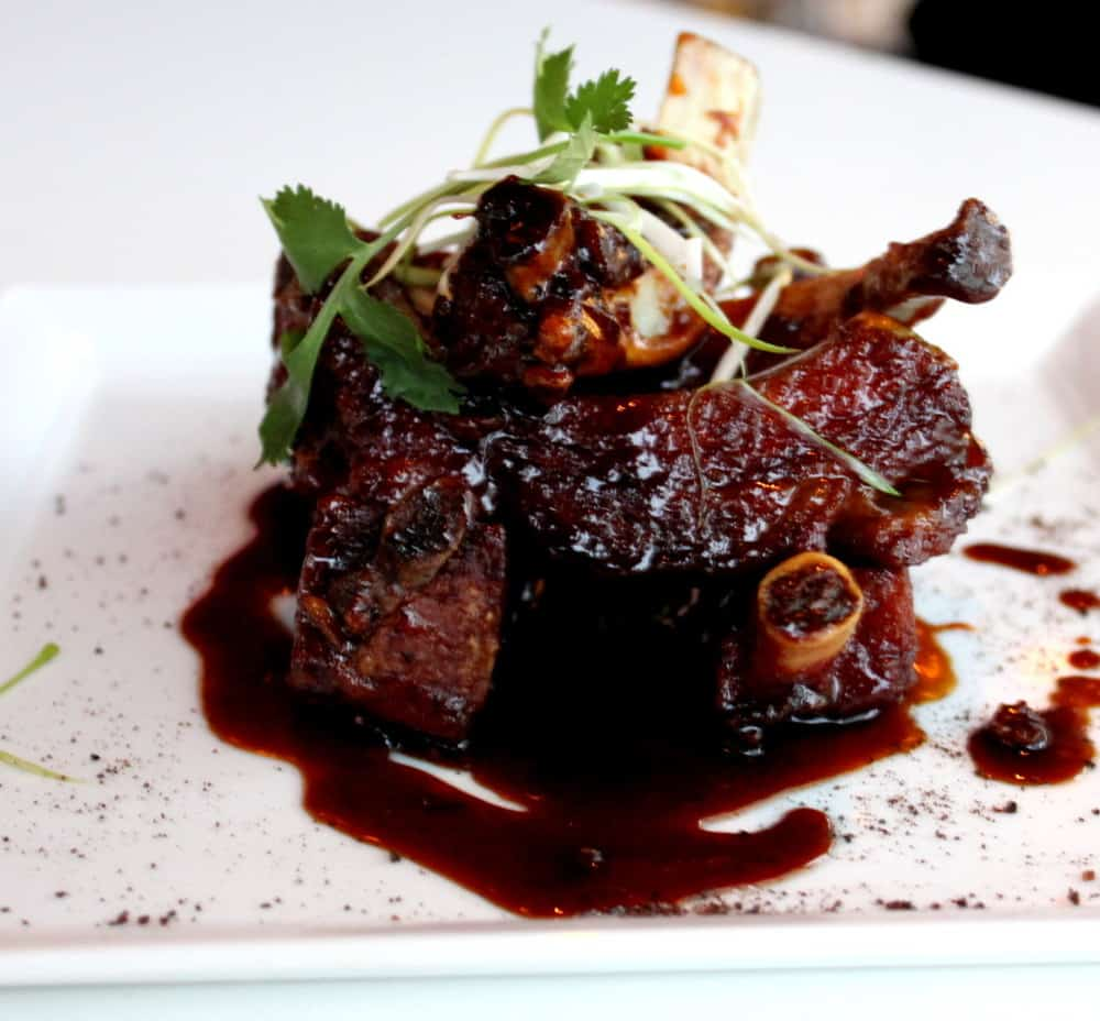 "Braised Beef Short Ribs with Peanut ""Rendang """