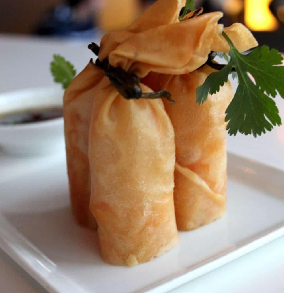 Crisp Maine Lobster & Shrimp Rolls w/ Honey 10-Spice Sauce