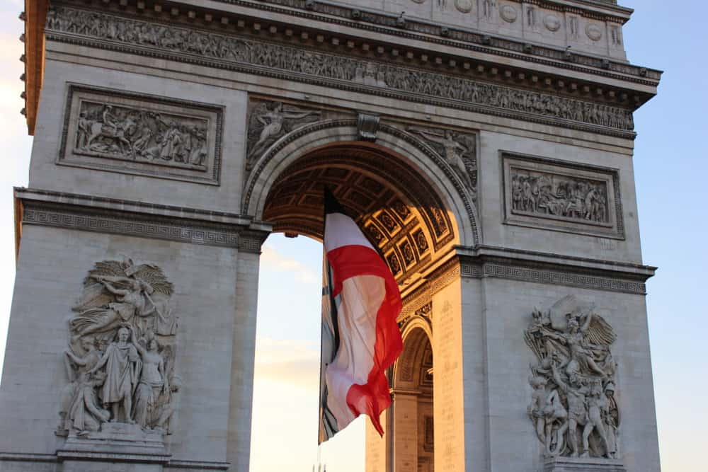 The Arc de Triomphe is magnificent is powerful, yet beautiful. Stunning.