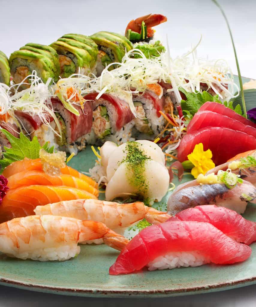 Sushi & Sashimi. Sensational