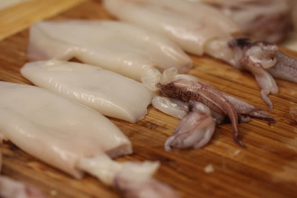 Don't squirm away from squid