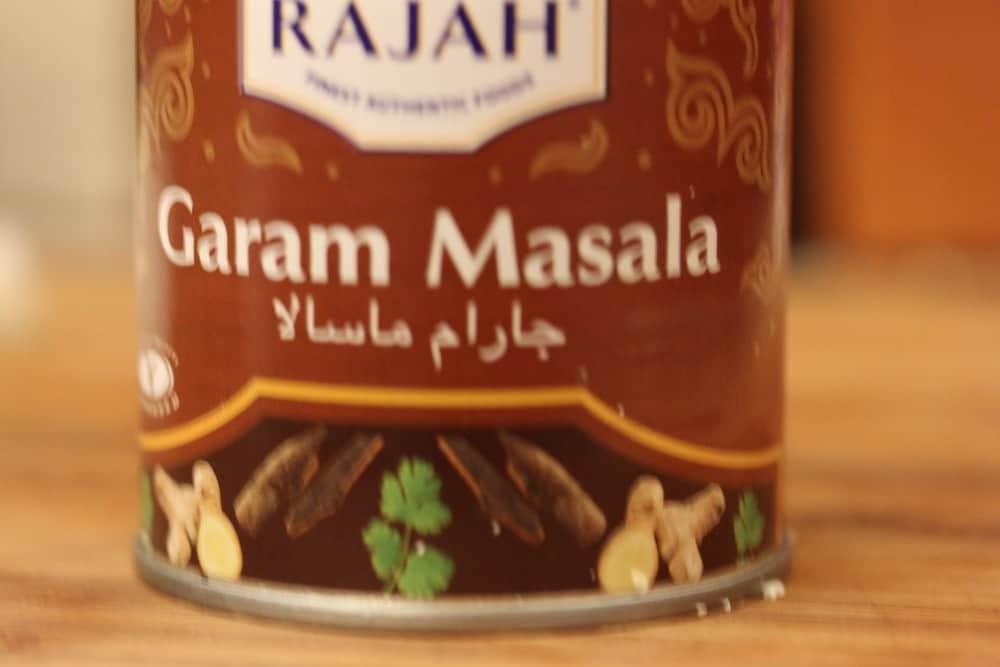 Garam masala provides so much depth