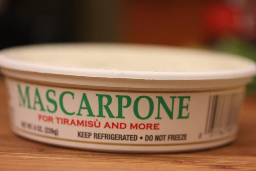 Mascarpone cheese elevates the flaovrs