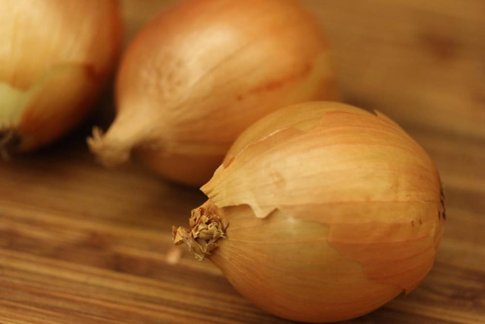 It all starts with some sweet onions