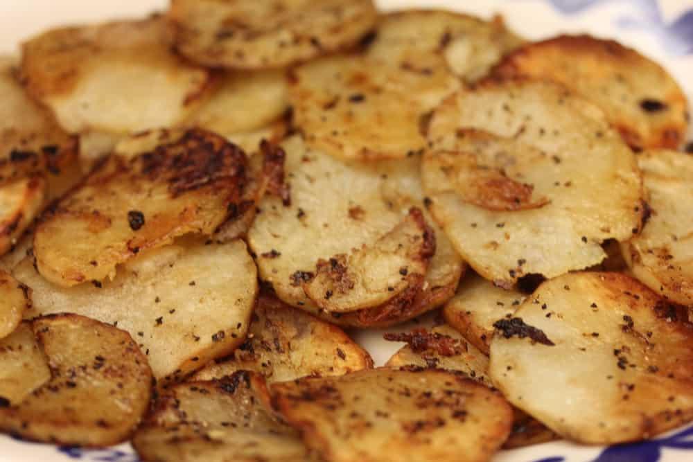 Roasted potatoes are amazing