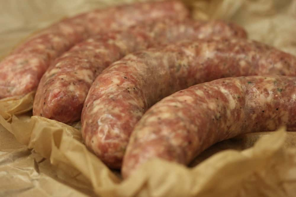 Wonderful Italian sweet sausage