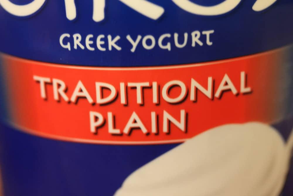 Greek yogurt is light and tangy!