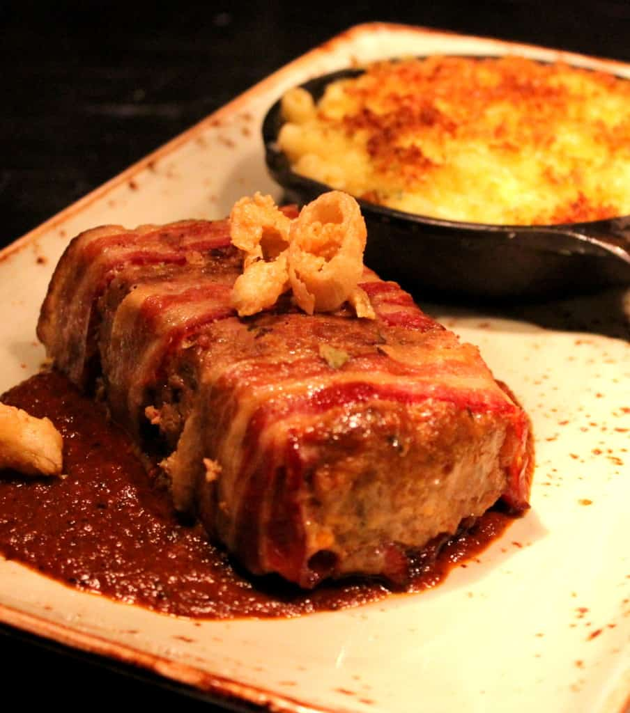 Meatloaf and Mac n Chesse.  Texas-style.