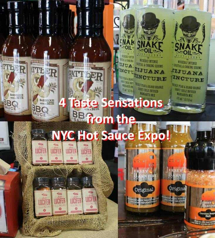 4 Taste Sensations from the NYC Hot Sauce Expo