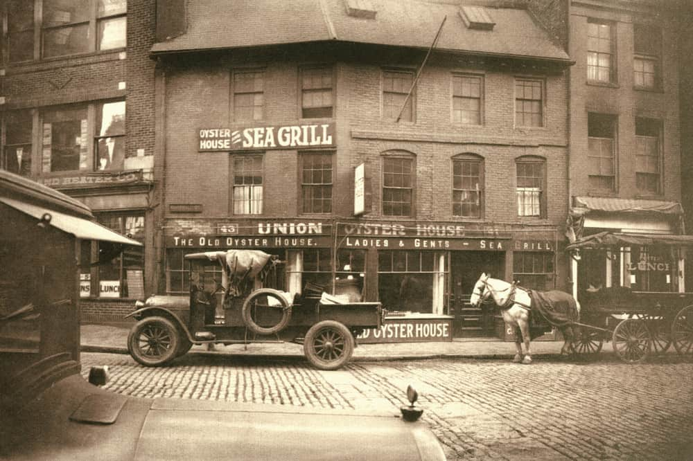 Union Oyster House - Circa 1920s