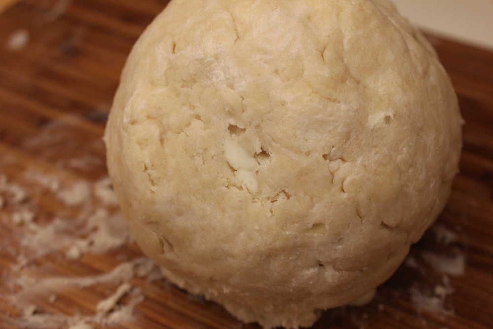 Make a double batch of the pie dough