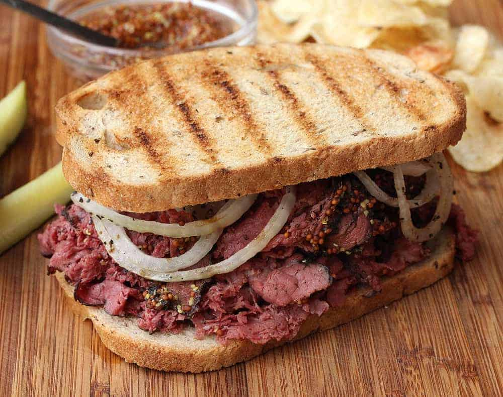 Wagyu Pastrami Sandwich How To Feed A Loon