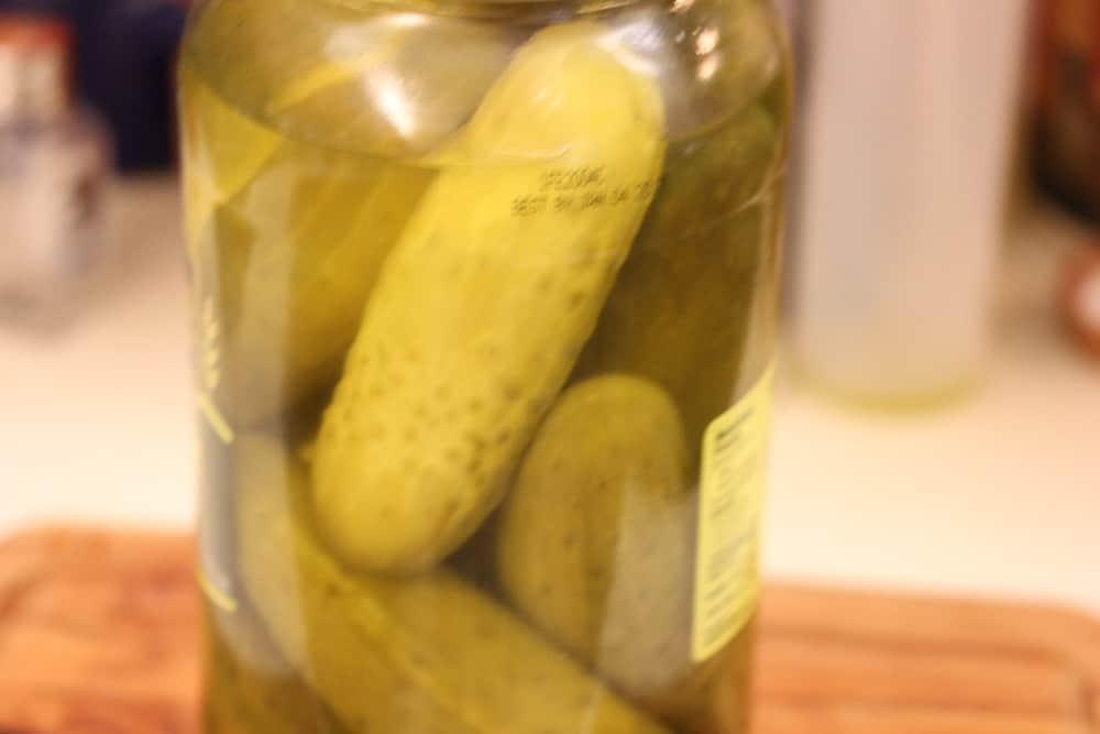 Pickles in a Jar!