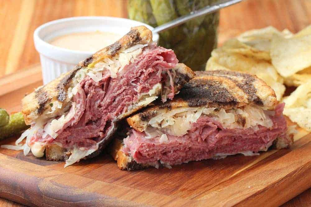 Classic Reuben Sandwich - How To Feed A Loon