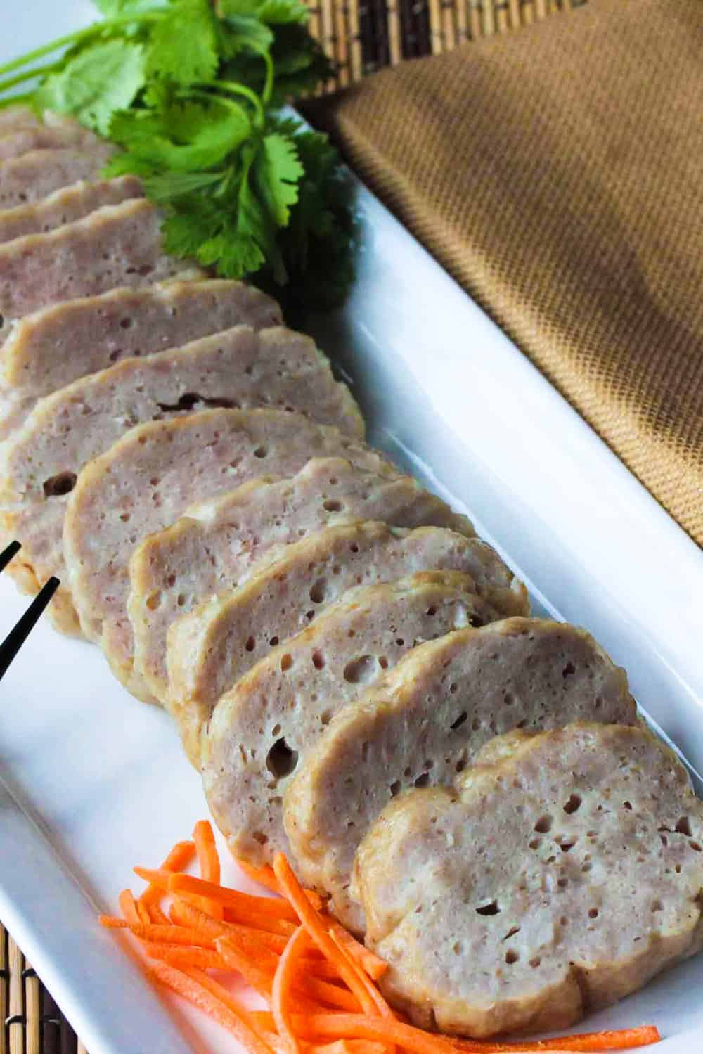 Cha Lua (Vietnamese Ham) aka Pork Roll - How To Feed A Loon