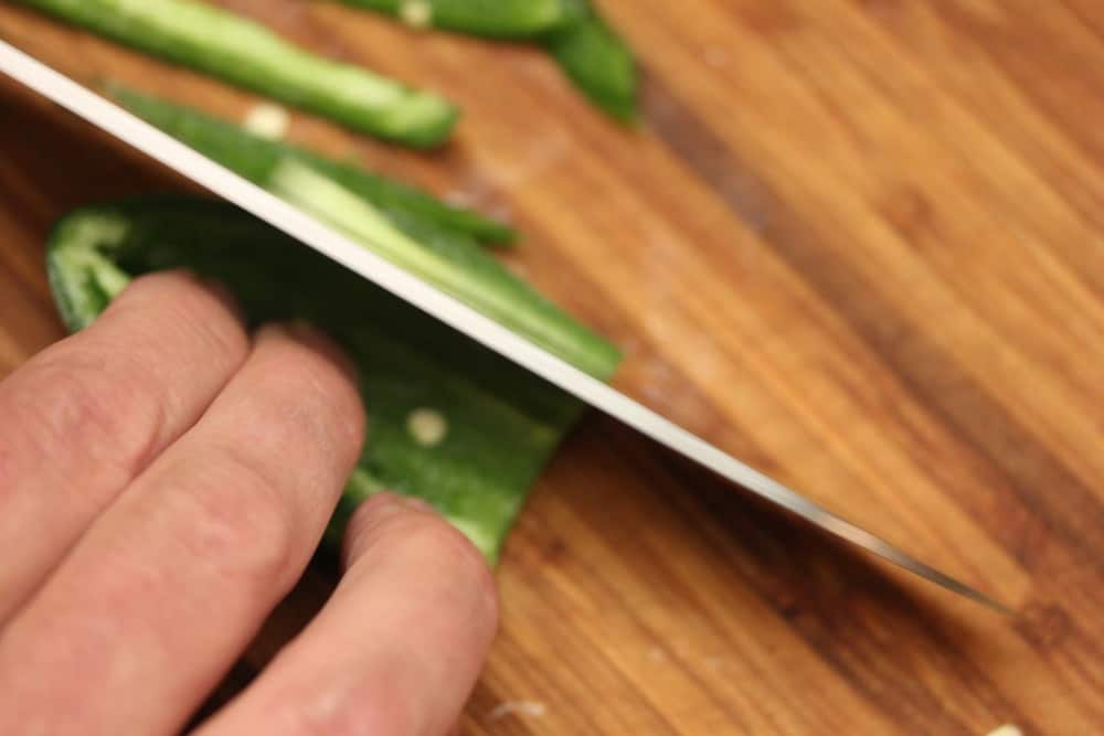 Diced jalapeno adds depth to flavor