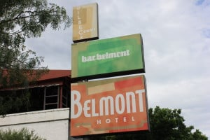 The Belmont Hotel...a totally hip and retro place
